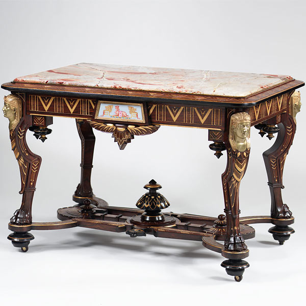 Iconic center table til collectibles for Iconic tables